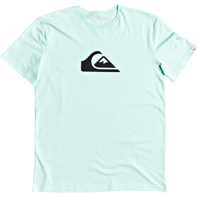 Quiksilver Comp Logo SS Tee Men beach glass
